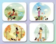 Four Seasons Placemats