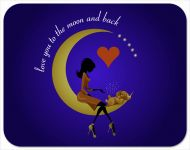 Love You to the Moon Placemat