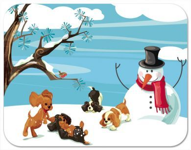 Snowman's Land Placemat