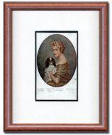 Her Favourite Pet Vintage Postcard