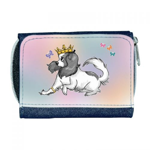 Coco and the Butterfly Ladies Denim Purse