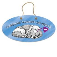 Cavalier on Guard Sign