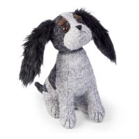 CC The Tricolour Cavalier King Charles Spaniel Doorstop By Dora Designs