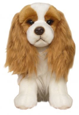 Large Blenheim Cavalier Soft Toy