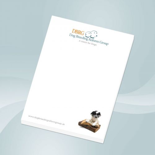 Dog Breeding Reform Group A6 Notepad