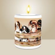 Puppyrama Tealight Holder