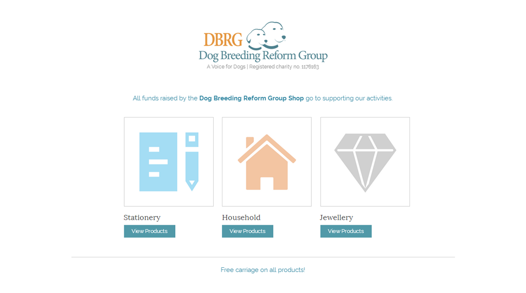 Dog Breeding Reform Group Shop